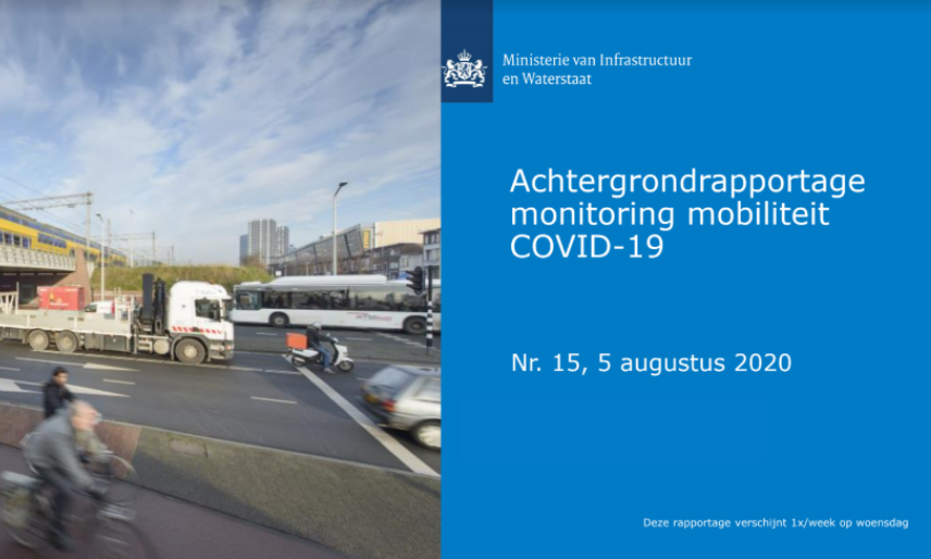 Achtergrondrapportage Monitoring Mobiliteit 5 augustus